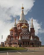 Svyato Mihailovsky Cathedral Izhevsk Russia Richard Bartz
