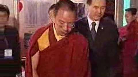 11TH PANCHEN LAMA VISITS TIBET EXHIBITION