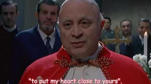 Movie about the life and pontificate of Pope John XXIII (part 3)