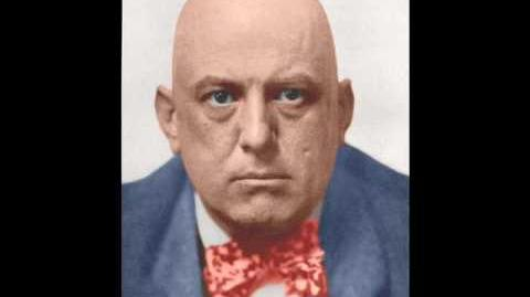 Aleister Crowley in colors