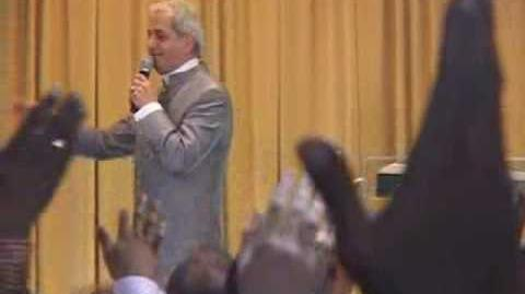Benny Hinn - God's POWER Falling on Church Audience