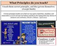 Bednar Scout Principles