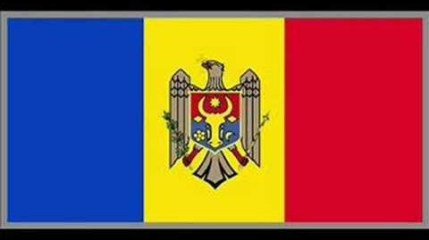 Moldova flag & anthem