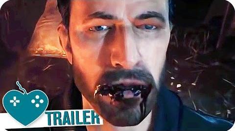 VAMPYR E3 2016 Trailer (2017) PS4, Xbox One, PC