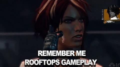Remember Me - Rooftops Gameplay