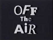 Off the Air (Plain)
