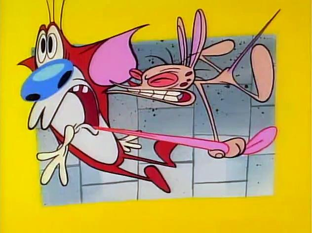 The Ren and Stimpy Show S5 E03 - Space Dogged