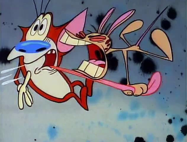 The Ren and Stimpy Show S5 E11 - I Was a Teenage Stimpy