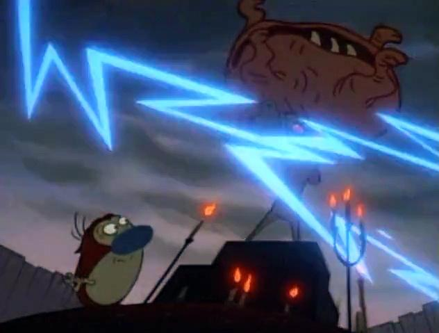 The Ren and Stimpy Show S4 E24 - Superstitious Stimpy