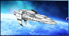 A Commonwealth Apollo-class cruiser.