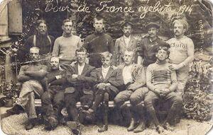1914 TdF Team Dozol
