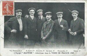 TdF 1909 Alcyon