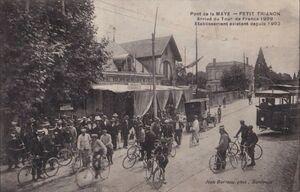 TdF 1909 Pont de Maye