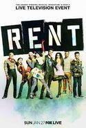 RENT Live poster