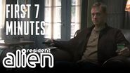 Resident Alien Exclusive Sneak Peek Episode 1 First 7 Minutes Premieres January 2021 on SYFY