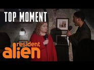 Liv Is The Wind Beneath The Sheriff's Wings - Resident Alien - SYFY