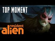 There's An Alien Under The Bed - Resident Alien - Episode 1 - SYFY