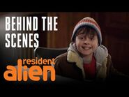 Do You Believe In Aliens? - Behind The Scenes - Resident Alien - SYFY