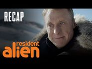 Some Guy Finds Harry's Alien Spaceship - Episode 2 Recap - Resident Alien - SYFY