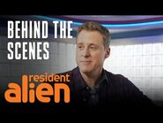 Resident Alien - Behind The Scenes- Do Aliens Cook? - Premieres January 27 At 10-9c - SYFY