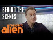 Do Aliens Sleep? - Resident Alien - SYFY