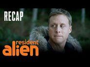An Alien Binge Watches SVU - Episode 1 Recap - Resident Alien - SYFY
