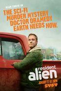 Resident Alien Poster