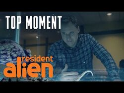 Harry Gets A Pep Talk From An Octopus? - Resident Alien - SYFY