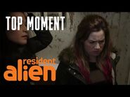 How To (Try To) Make An Alien Jealous - Resident Alien - SYFY