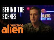 Murder, Intrigue And Family Guy Comedy - Resident Alien - SYFY