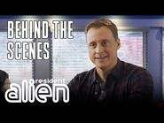 Resident Alien - Behind The Scenes- Partying With Aliens - Premieres January 27 At 10-9c - SYFY