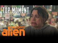 D'arcy And Isabelle Enjoy A Happy Hour - Resident Alien - SYFY