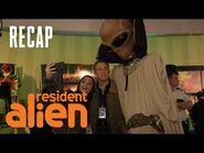Harry Goes To An Alien Convention -RECAP- - Resident Alien - SYFY