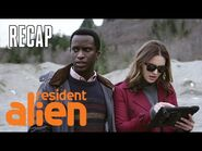 Government Agents Find Harry's Ship -RECAP- - Resident Alien - SYFY