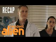 Some Guy Finds Harry's Spaceship -RECAP- - Resident Alien - SYFY