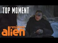 Harry Is Very Worried About Child -62 - Resident Alien - SYFY