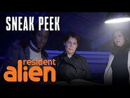 "SYFY's ""Resident Alien"" - Sneak Peek- Why Harry's Here - SYFY"