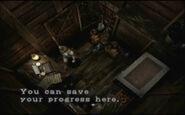 Graveyard Cabin Storeroom - Save Typewriter