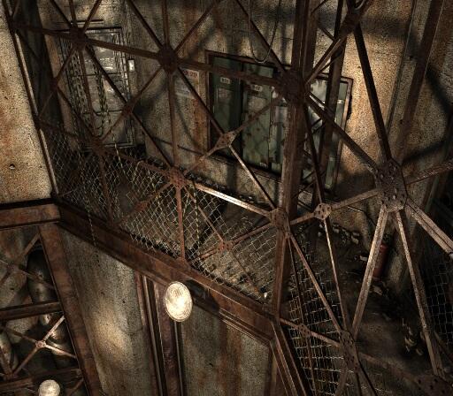 Factory/Elevator passage