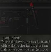 Bowgun bolts
