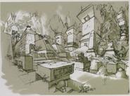 Resident Evil 5 Ndipaya Kingdom concept art 15
