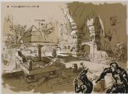 Resident Evil 5 Ndipaya Kingdom concept art 6