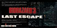 Biohazard 3 Last Escape Manual 001