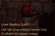 Liver Replica Left description