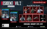 RE2 remake NA Deluxe Edition