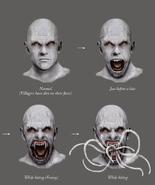 Resident Evil 4 Digital Archives - Las Plagas Face Variations
