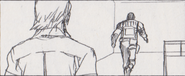 Leon vs. Chris storyboard 29