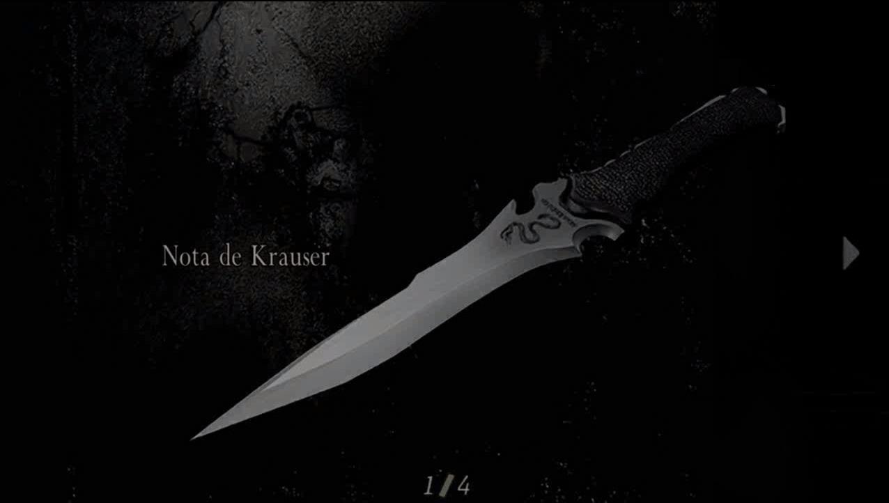 Nota de Krauser