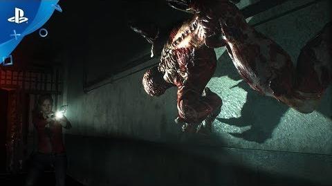 Resident Evil 2 Remake - Licker Battle Trailer PS4