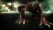 Resident evil operation raccoon city licker
